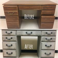 can i use chalk paint on laminate kitchen cabinets how to paint a laminate furniture desk let s paint