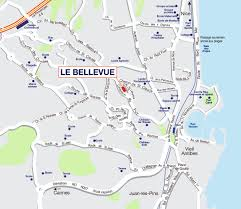 French Riviera Map Buy Apartments In Antibes Cote D U0027azur France Promogim