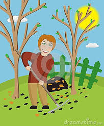 Backyard Clip Art Cleaning The Garden Clipart Clipartxtras