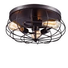 flush mount ceiling light fixtures oil rubbed bronze yobo lighting oil rubbed bronze flush mount ceiling light 3 light ebay