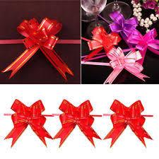 pull bow ribbon pull bows ebay