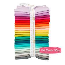 elizabeth hartman designer palette kona cotton solids fat quarter