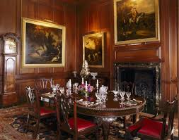 room view of the dining room at antony house showing the dining