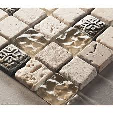 Crystal Stone Blend Wall Tile X Mosaic  Sheets Hot Sale - Backsplash tile sale