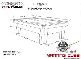 9 foot pool table dimensions smart pool table