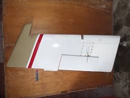 beechcraft b55 baron aircraft aviation rudder and trim tab