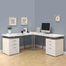 L Shaped Desk Canada Monarch Specialties Hollow L Shaped Desk Lowe S Canada
