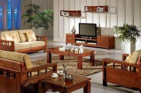 How To Set Living Room Furniture Inspiring Modern Wood Living Room Furniture Wooden Sofa Set With