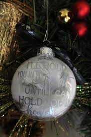 image collection personalized memorial christmas ornaments all