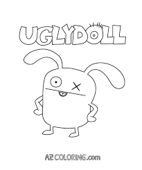 ugly dolls coloring pages coloring home