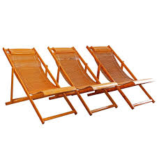 Fold Up Outdoor Chairs Vintage Bamboo Wood Japanese Deck Chairs Outdoor Fold Up Lounge