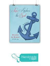 Love Anchors The Soul Print - couples gift boyfriend girlfriend engagement wedding love