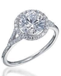 flat engagement rings cut diamond engagement rings martha stewart weddings