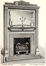 a dozen fashionable victorian fireplaces from 1880 click americana