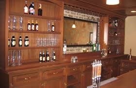 bar attractive home bar designs ideas with brown wooden open