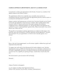adjunct professor resume example letter of recommendation for adjunct faculty position cover cover letter for college teaching position a reference letter for lecturer