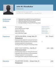 Job Description Of A Phlebotomist On Resume by Download Phlebotomy Resume Sample Haadyaooverbayresort Com