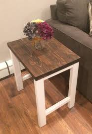 Free Wood End Table Plans by Best 25 Diy End Tables Ideas On Pinterest Pallet End Tables