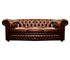 Vintage Leather Chesterfield Sofa by Secondhand Hotel Furniture Lounge And Bar Vintage Oxblood