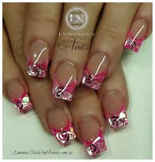 pink nail designs nails and beauty gold coast queensland
