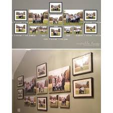 before after wall portrait gallery design michellelymandesign