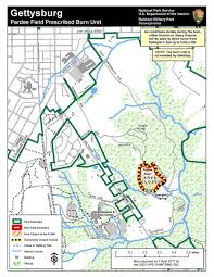 Gettysburg Pennsylvania Map by Pardee Field Prescribed Burn Gettysburg National Military Park