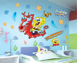 Spongebob Room Decor Spongebob Wall Decals For Living Room Spongebob Wall Decals For