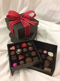 flowers and chocolate two layer chocolate box in spokane wa bloem flowers chocolates