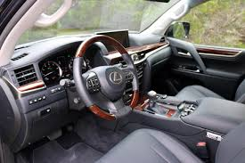 lexus lc interior 2016 lexus lx 570 test drive review autonation drive automotive blog