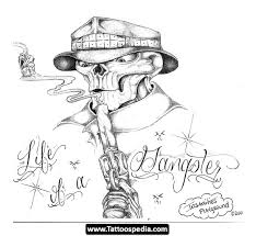 30 latest gangsta tattoo designs