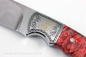 gold inlay engraving gold inlay knife engraving david sheehan engraver