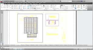 Draftsight Floor Plan by The Architectural Student Autocad Setting Up Paperspace With