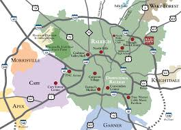 Raleigh Map Our Location 5401 North