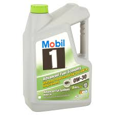 mobil 1 0w 30 advanced fuel economy full synthetic motor oil 5 qt