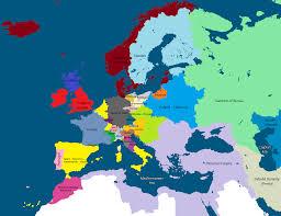 Holy Roman Empire Map Holy Roman Empire Tudor Line Alternative History Fandom