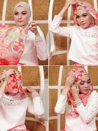 tutorial hijab noura tutorial hijab ala si cantik laili meutia personel band noura
