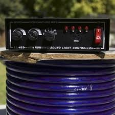 controller for 3 wire rope light commercial 4 channel