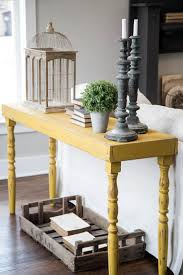 Decorating A Sofa Table Console Table Decoration Sofa Against Wall Center