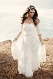 hippie boho wedding dresses picture of naturally beautiful boho wedding dresses by grace