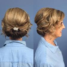 mother of the bride hairstyles partial updo 50 ravishing mother of the bride hairstyles