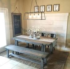 rustic dining table with bench rustic kitchen table picnic style dining room table rustic kitchen