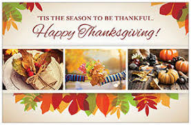 celebrate the season with thanksgiving postcards and fold
