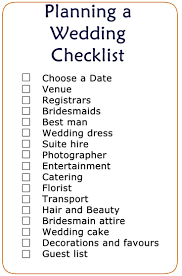 simple wedding planning simple wedding checklist passionative co