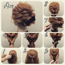 easy messy buns for shoulder length hair messy bun for medium thick hair
