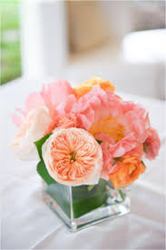 Small Flower Arrangements Centerpieces 94 Best Centerpieces Orange U0026 Peach Images On Pinterest Wedding