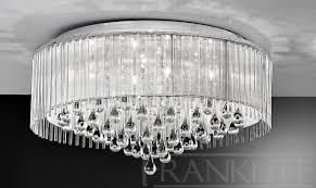franklite spirit 6 light flush ceiling light fl2160 6