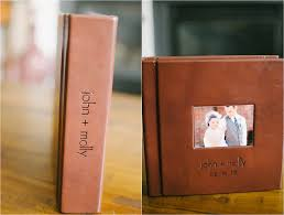 engraved wedding albums our wedding album only four years late still being molly