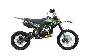 freestyle motocross bike dirt bike xtr125 xb 33 125cc green black cars and autos