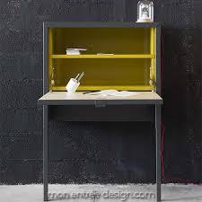 bureau secr騁aire meuble lovely meuble bureau secretaire design 6 meuble secrétaire design