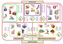 120 free esl consonants and vowels worksheets